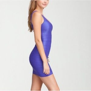 Purple grape Bebe dress Bodycon club small s hot